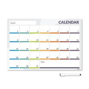 PRESENTOIR MURAL CKB Ltd® CALENDER Magnetic Fridge Board Tableau Mé