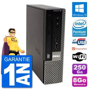 UNITÉ CENTRALE  Ultra Mini PC Dell Optiplex 780 USFF E5800 RAM 8Go
