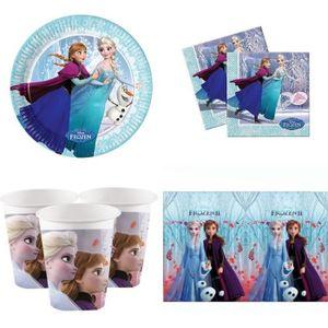 Mgs33 La Reine Des Neiges 2 Kit Pour Fete D Anniversaire La Reine Des Neiges 6 8 Enfants Achat Vente Kit De Decoration Cdiscount