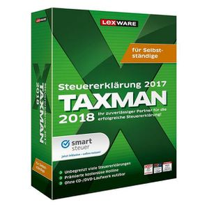 UTILITAIRE Lexware TAXMAN 2018, Windows 10, Windows 7, Window