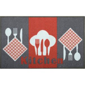 Tapis kitchen achat vente tapis kitchen pas cher les for Tapis cuisine wash and dry