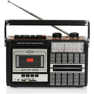 RADIO CD CASSETTE RICATECH PR85 Radio cassette - FM / AM / SW - Port