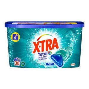LESSIVE Xtra Total Lessive Duo Caps Fraîcheur+ 30 capsules