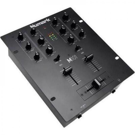 Tables De Mixage Dj Numark M101 Black Table De Mixage Avis Et