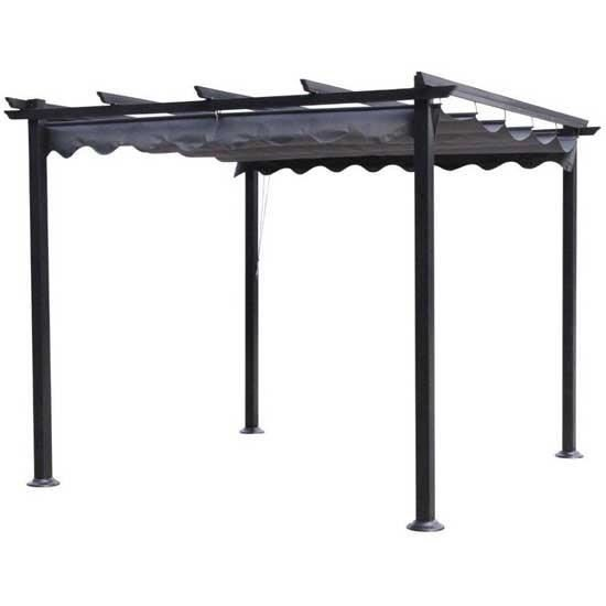 cordoba pergola 3x4 en aluminium achat vente tonnelle barnum pergola 3x4 en aluminium. Black Bedroom Furniture Sets. Home Design Ideas