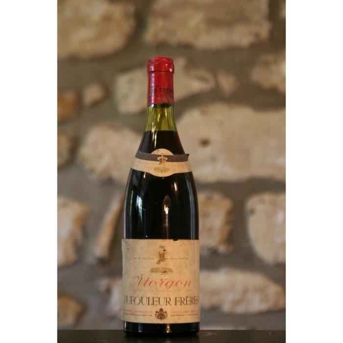 Vin rouge, Domaine Dufouleur Freres 1976 Rouge