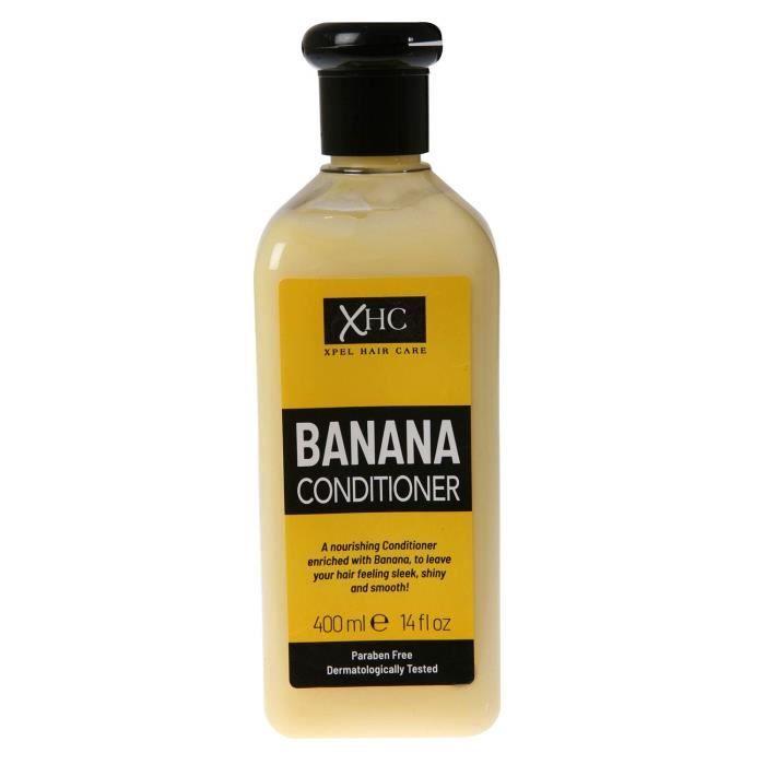 XHC Après-shampooing à la banane nourrissante (Soins des cheveux Xpel) Xpel Hair Care Nourishing Banana Conditioner