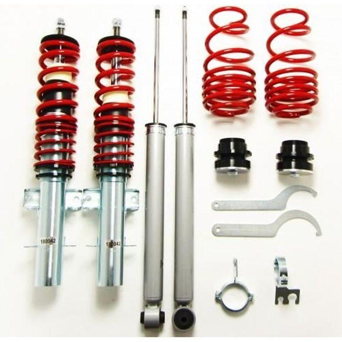 Kit suspension combiné fileté VOLKSWAGEN Polo type 6R de 2009 a 2017 GF200189 voir descriptif pour motorisation