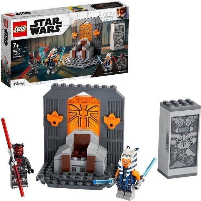 LEGO® 75310 Star Wars Duel sur Mandalore Jouet à Construire, Jouets pour Enfants de +7 ans, Figurine et Sabres Laser