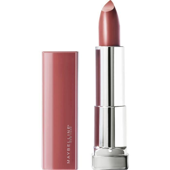 GEMEY MAYBELLINE Rouge à lèvres New York Color Sensation Made For All - 373 Mauve For Me