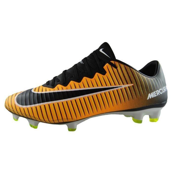 NIKE Mercurial Vapor Xi Fg Taquet Football (laser orange, noir) 1PVXUQ Taille-42