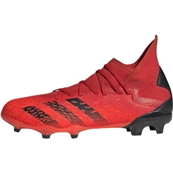 Chaussures Adidas Predator Freak.3 Fg rouge / noir homme