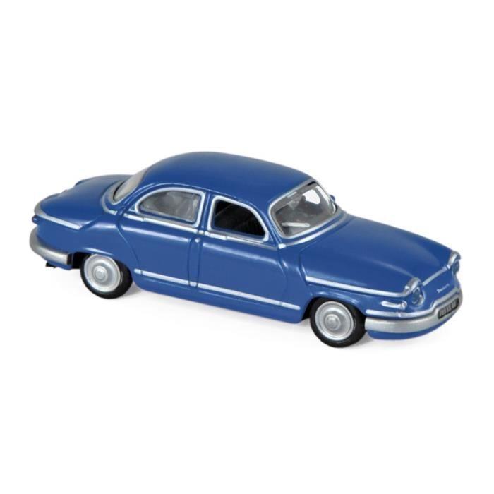 Miniatures montées - Panhard PL17 blan Anthique 1961 1/87 Norev