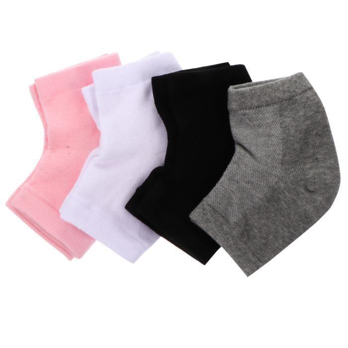 4 paires chaussettes sèches fissurées soin des mains - soin des pieds - gommage pied - bain de pied corps visage