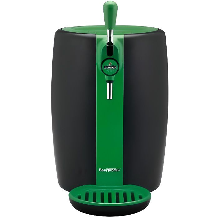 SEB VB310310 Tireuse à bière Beertender Green Limited Edition - Compatible fûts 5 L - Noir / Vert