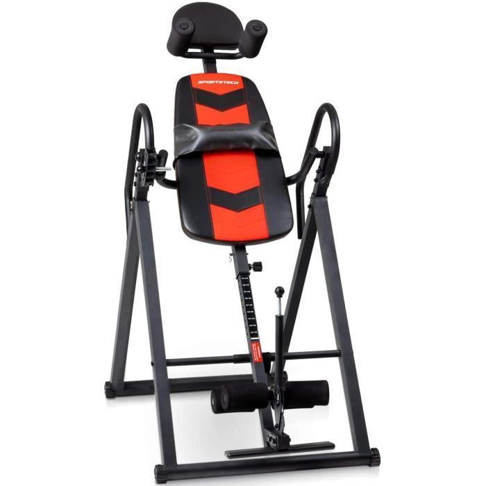 Sportstech Table d'inversion pour Le Fitness et Le Massage du Dos - IT200