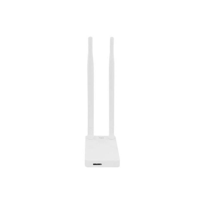 T'NB Clé WI-Fi AC 1200 Mbps avec double antenne détachable - Blanc