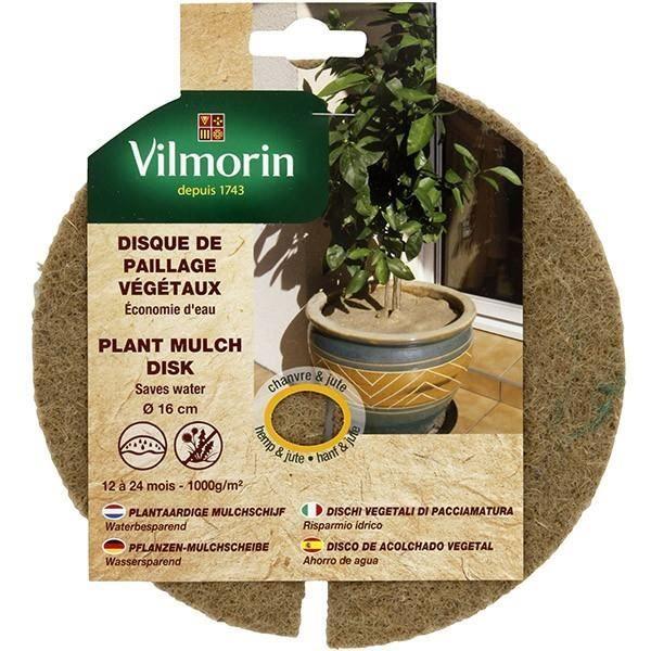 Disque de paillage végétaux 1000g/m² - Ø 30cm