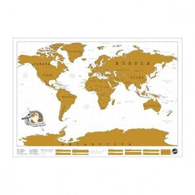 carte du monde gratter scratch map achat vente statue statuette m tal cdiscount. Black Bedroom Furniture Sets. Home Design Ideas