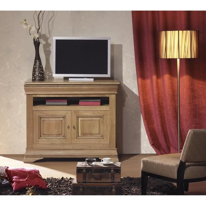 meuble t l hifi chinon achat vente meuble tv meuble. Black Bedroom Furniture Sets. Home Design Ideas
