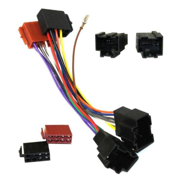 adaptateur e4 c ble pour autoradio iso achat vente installation autoradio adaptateur e4. Black Bedroom Furniture Sets. Home Design Ideas