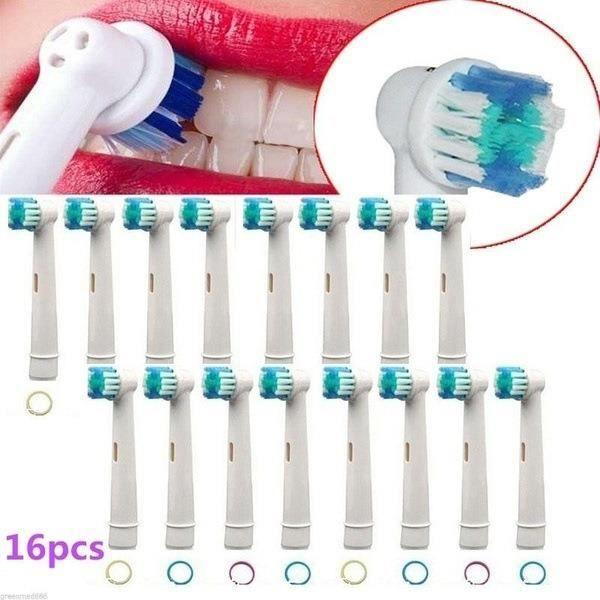 BROSSE A DENTS Oral B Générique 16 brossettes Précision Clean