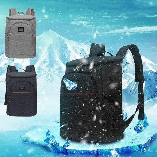 Isotherme Sac à dos glacière déjeuner Voyage Picnic Camping Plage boissons froides bière Sac