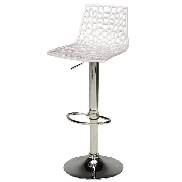 tabouret de bar blanc design spider achat vente. Black Bedroom Furniture Sets. Home Design Ideas