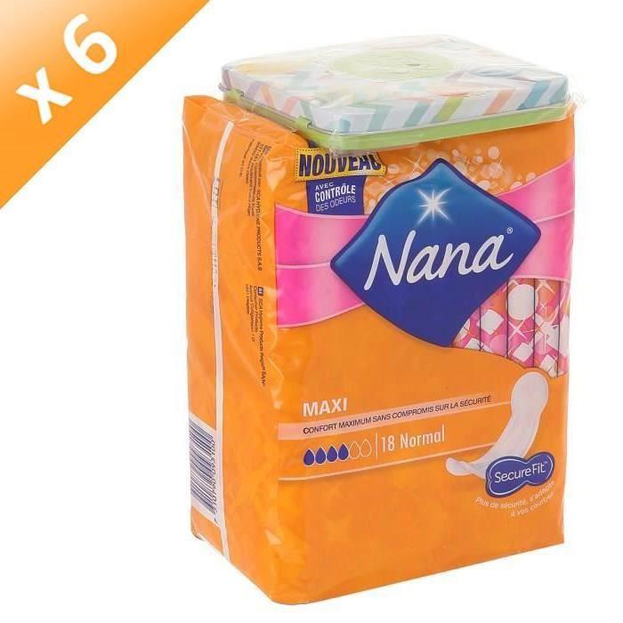Lot De 4 Maxi Serviettes Hygieniques Goodnight X12 Prix Par Lot Livraison Rapide En France NANA