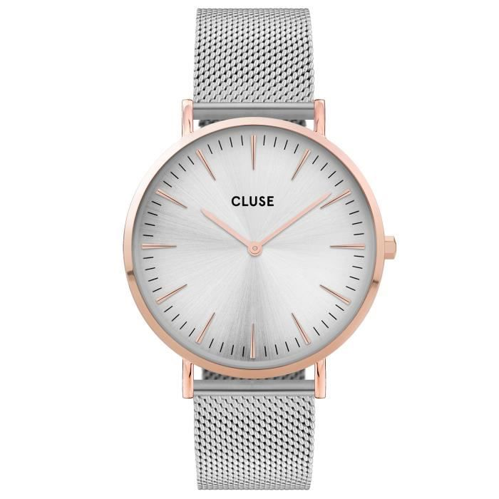 cluse bracelet argent