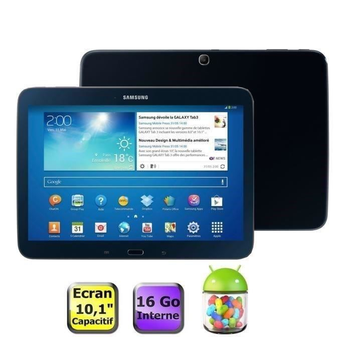 informatique tablettes tactiles ebooks samsung galaxy tab  go noire f gtptab