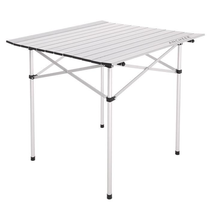 Homdox Table De Jardin Pliante Aluminium Table Camping Pique Nique