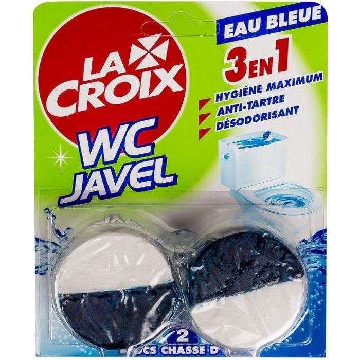 NETTOYAGE WC LACROIX WC Blocs Chasse d'Eau Javel 2x48g