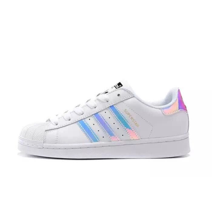 adidas superstar chaussure baskets basses femmes blanc achat vente chaussure toning cdiscount. Black Bedroom Furniture Sets. Home Design Ideas