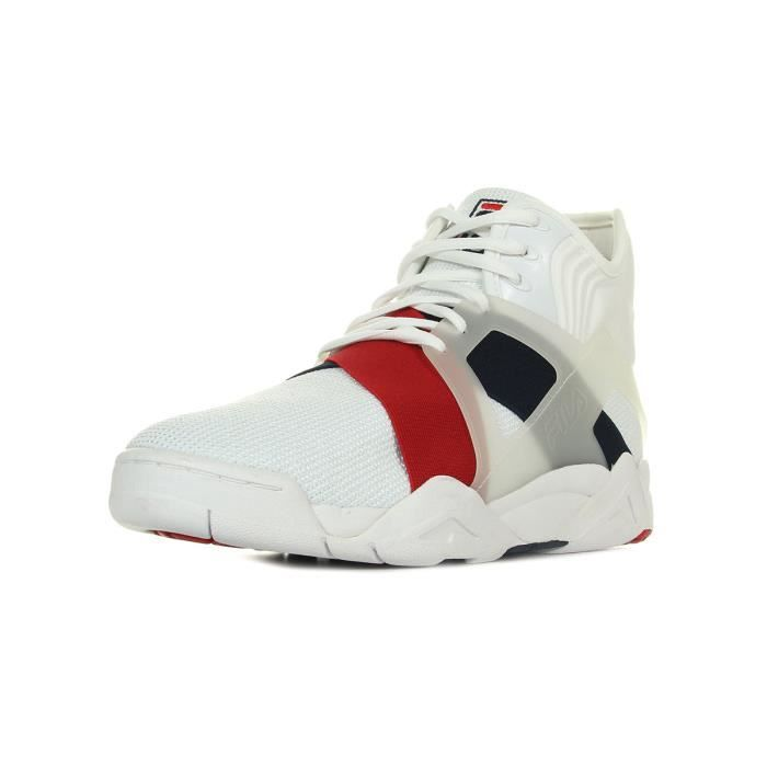 Baskets Fila The cage 17 White - Fila Navy - Fila Red dfAKUvLfw3