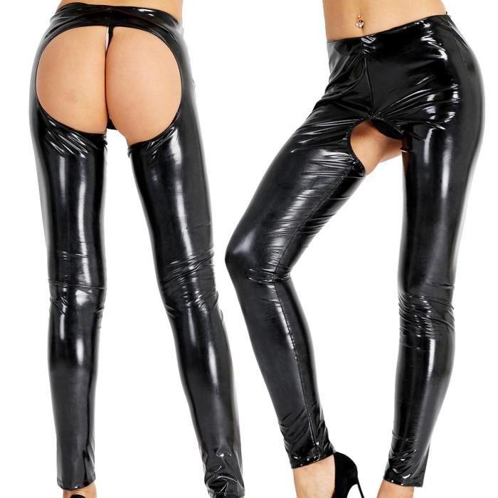 pantalon femme ouvert derriere