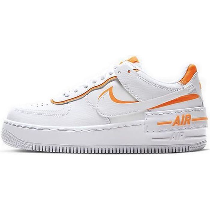Nike Air Force 1 Shadow Chaussures de Baskets pour Femme Blanc ...