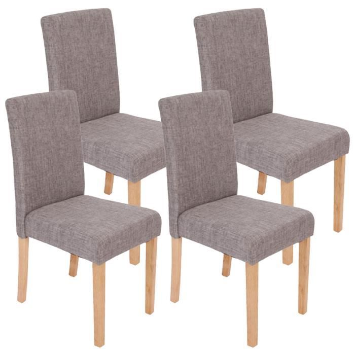 lot de 4 chaises de salle manger fauteuil li achat. Black Bedroom Furniture Sets. Home Design Ideas