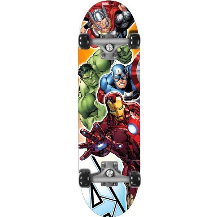 "SKATEBOARD - LONGBOARD AVENGERS Skateboard 28"" x 8"" - Marvel"