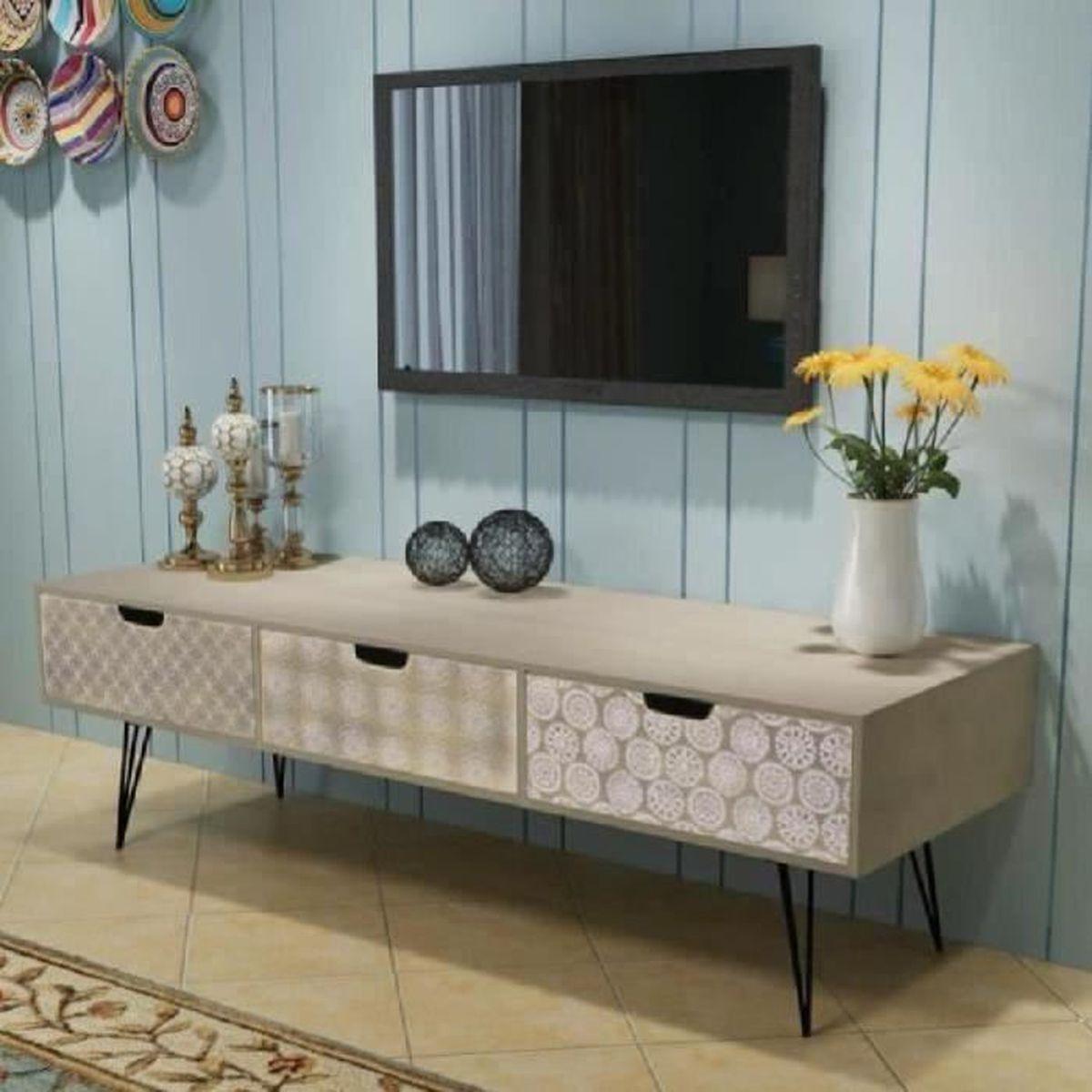 Meuble Tv De Salon meuble tele et table de salon