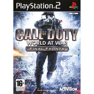 JEU PS2 CALL OF DUTY 5 WORLD AT WAR / Jeu console PS2