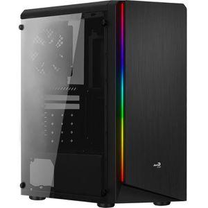 BOITIER PC  AEROCOOL - Rift Noir BG (RGB) avec verre trempé -