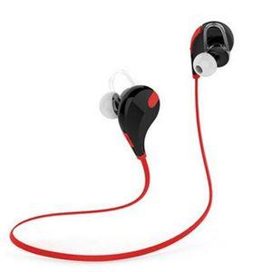 CASQUE AVEC MICROPHONE Sans fil Bluetooth stéréo Sport casque écouteur po