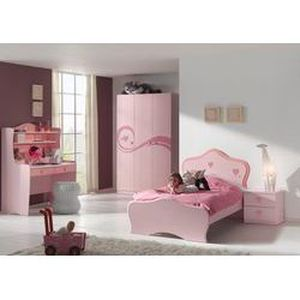 Chambre coucher enfant compl te lucie 2 colo achat for Achat chambre a coucher complete