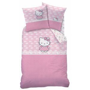 parure de lit hello kitty 1 personne achat vente parure de lit hello kitty 1 personne pas. Black Bedroom Furniture Sets. Home Design Ideas