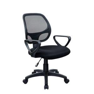 CHAISE DE BUREAU DUHOME Chaise de bureau classique tissu en toile 5