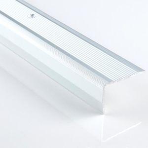 1,1 m Profil/é dangle en PVC ND Profil/é descalier antid/érapant pour escalier 40 x 25 mm