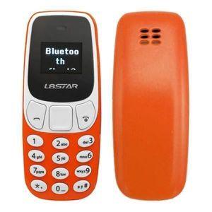 Téléphone portable Letouch Mini-téléphone BM10, Ecran 0,66