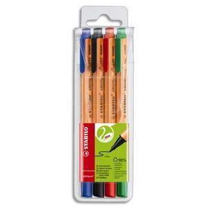 Stylo - Parure STABILO Pochette de 4 stylos Feutres GreenPoint As