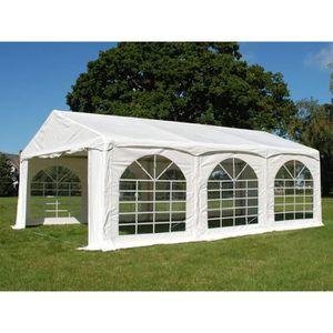TONNELLE - BARNUM Tente de réception Original 4x8m PVC,